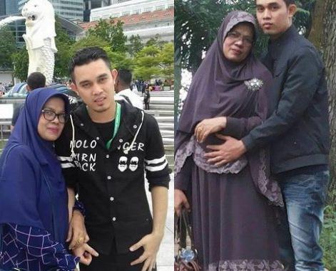 Foto: Ade Imron dan Istri, Pasangan Yang Jadi Viral di Facebook Karena Beda Usia