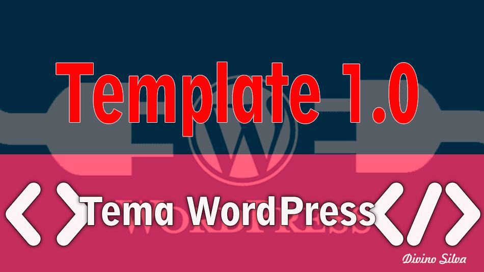 Template 1.0 para sites WordPress