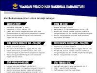 Lowongan Kerja Guru TK, SD, SMP dan SMA Karangturi Semarang