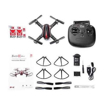 Review Drone MJX Bugs 3 Mini Kecil-Kecil Sudah Pintar Balapan