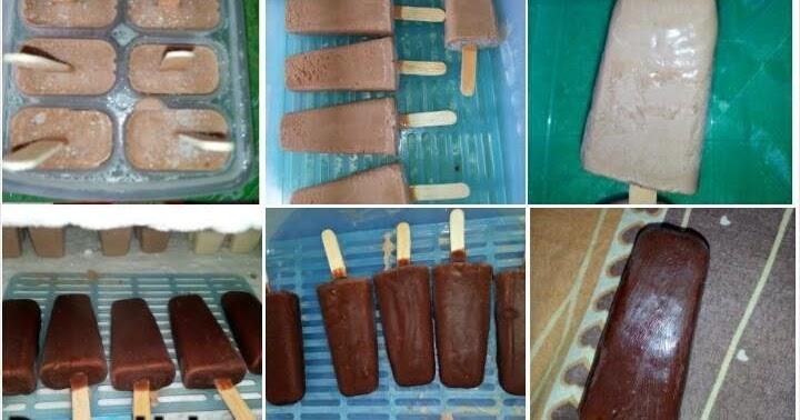 Cara Membuat Es Krim Magnum Coklat Sederhana