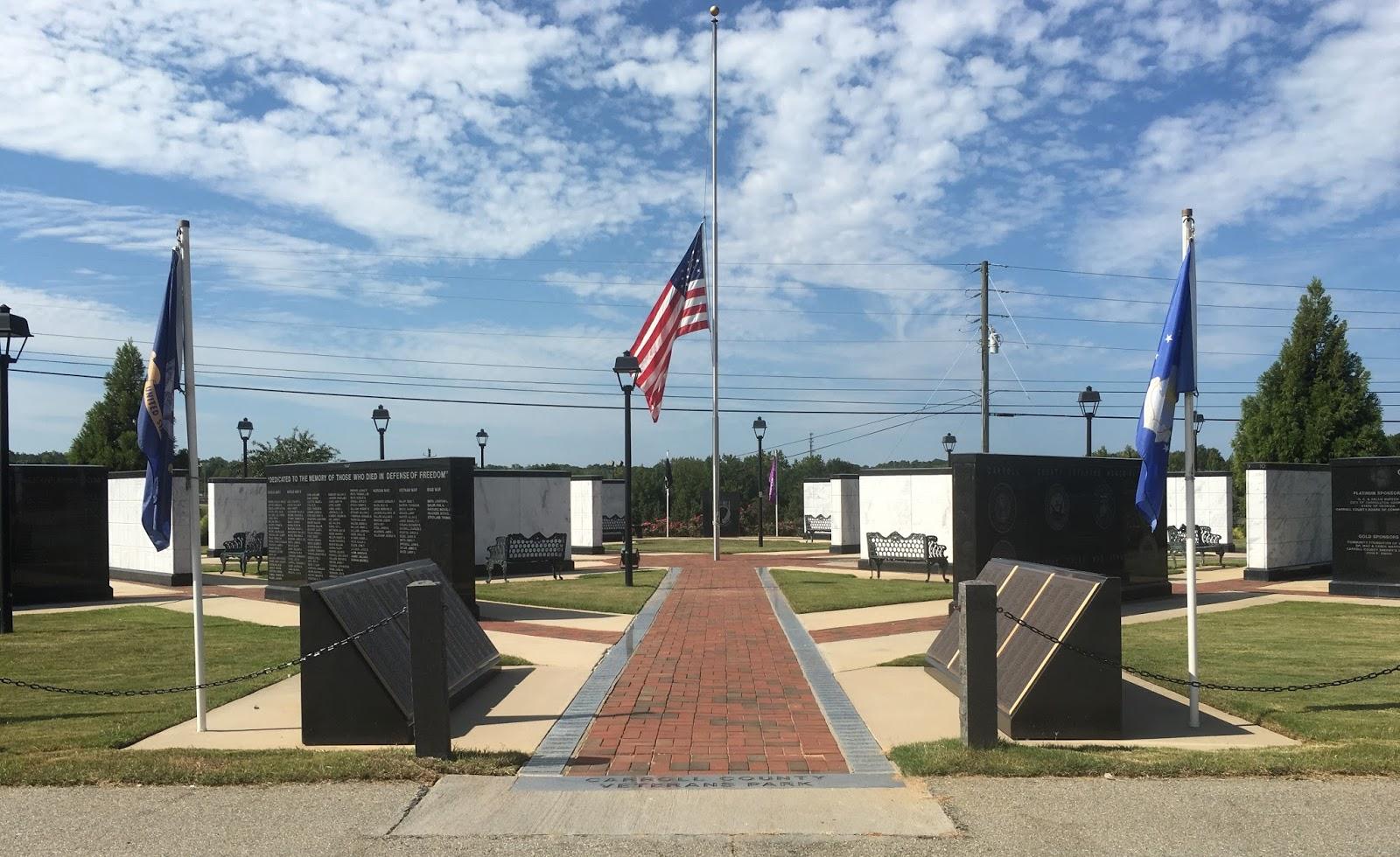 Carroll County Veterans Memorial Park Georgia Pictures