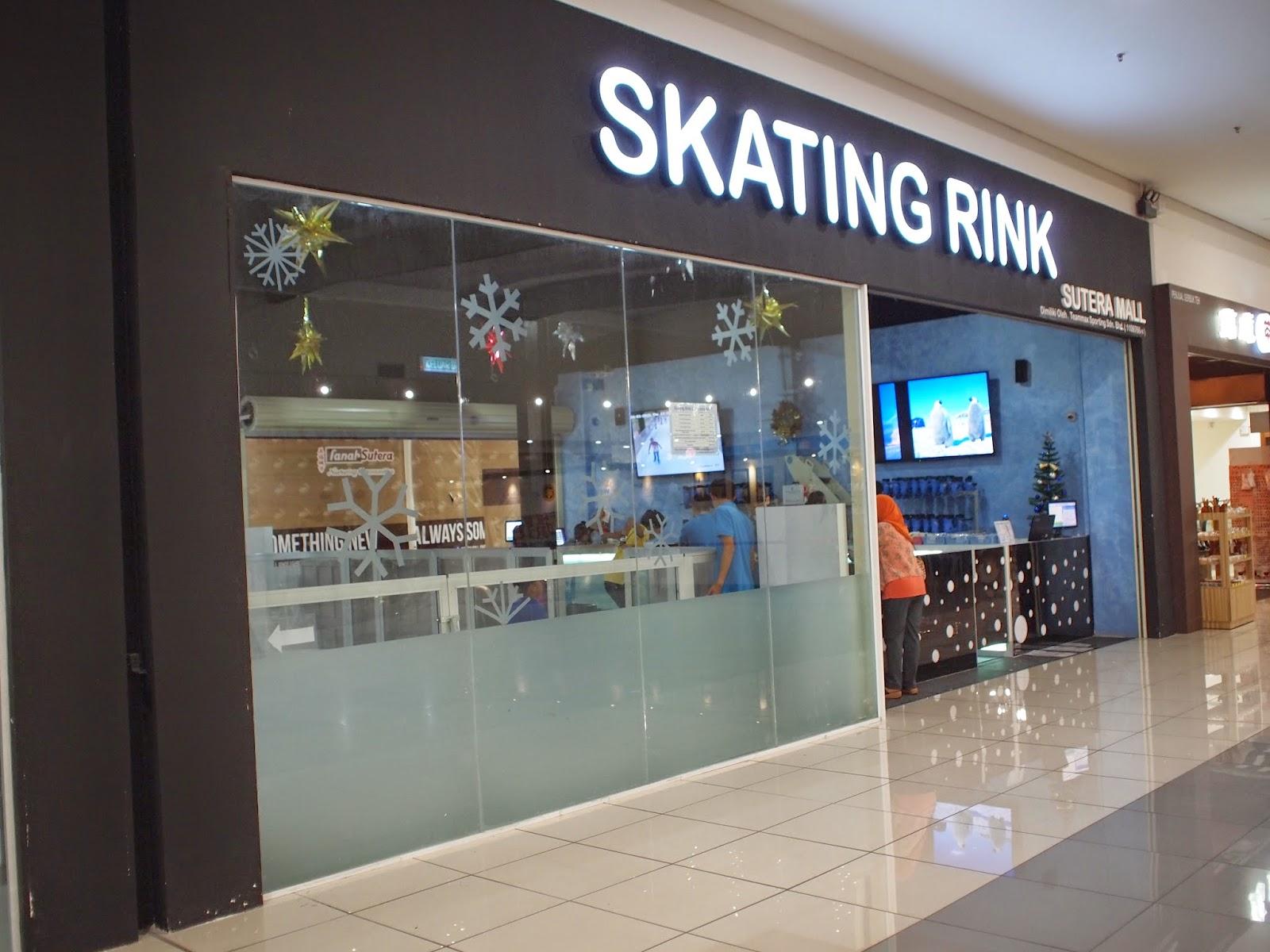Skating Rink, Sutera Mall