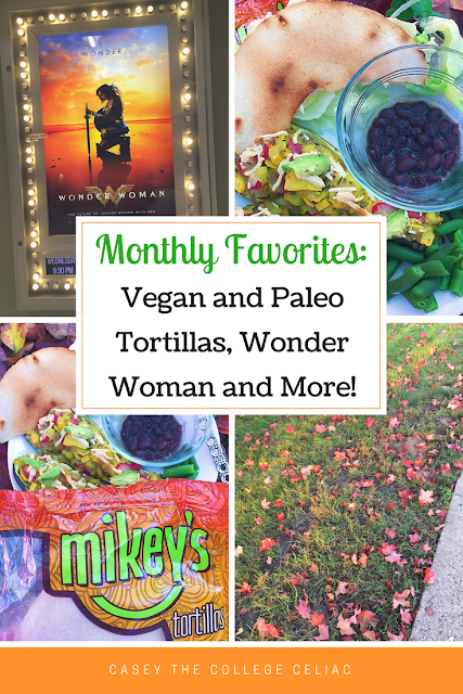 Gluten Free Monthly Favorites: Paleo and Vegan Tortillas, Wonder Woman and More