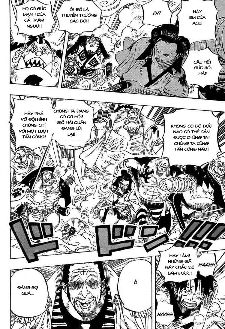 One Piece Chap 562
