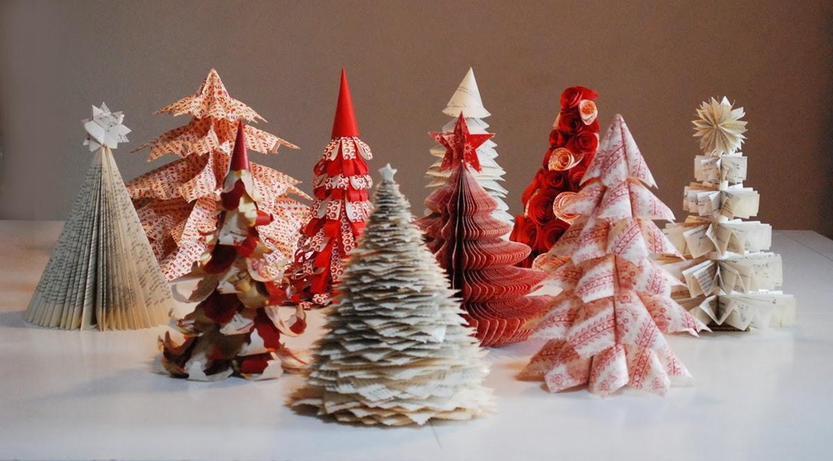 Famoso Incartesimi: Tutorial: albero di Natale con vecchi libri PD23