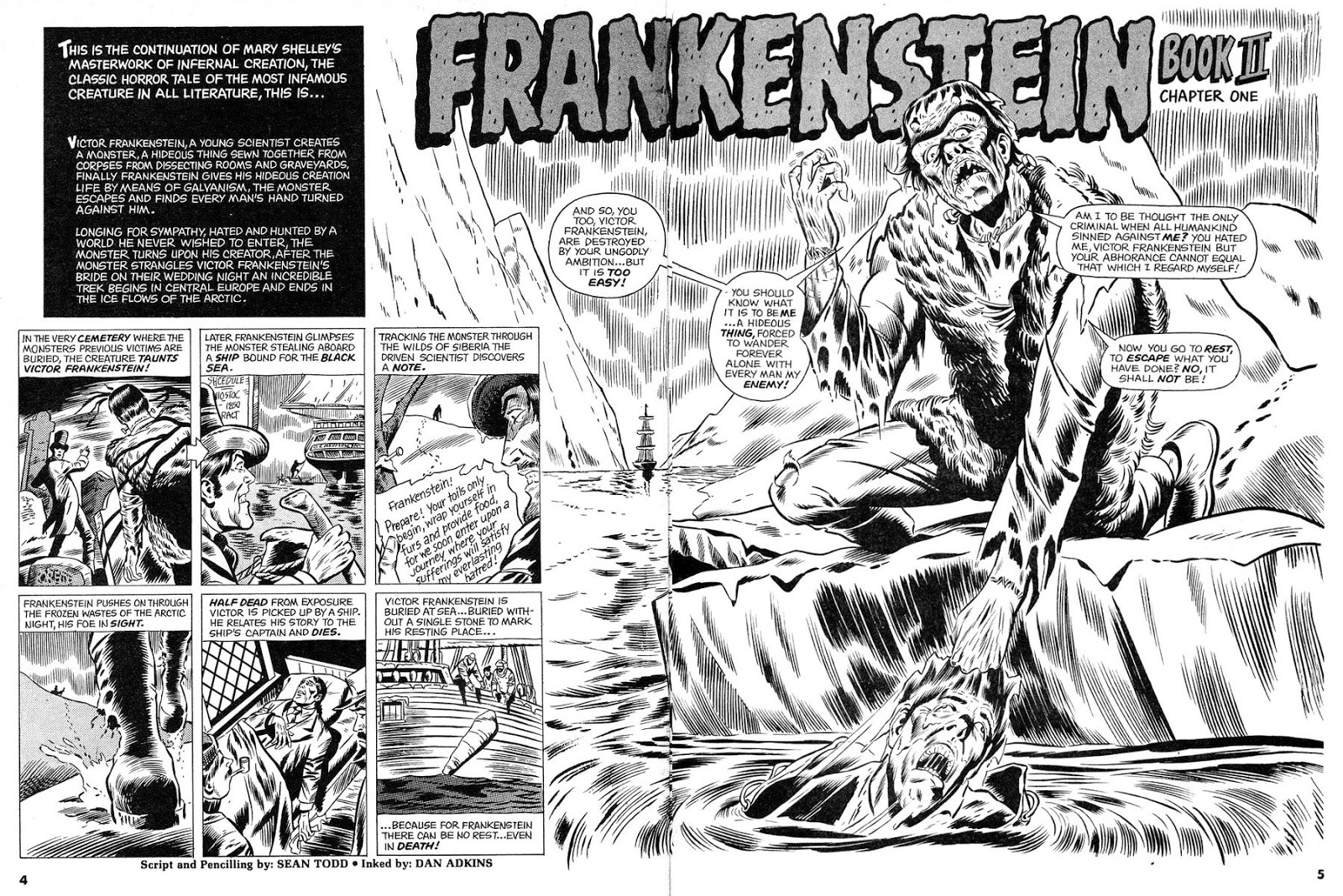 Pappy\'s Golden Age Comics Blogzine: Number 2042: Frankenstein Friday ...