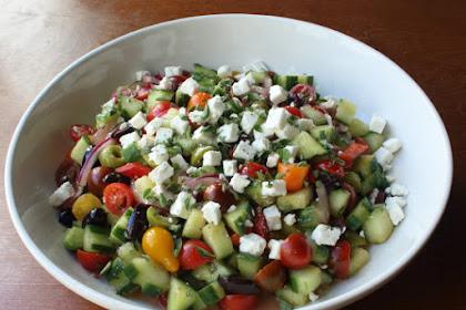 My Big Fat Greek Salad and Its Big Fat Unoriginal Name