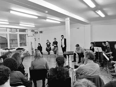 Masterclass in Progress - Robert Saxton and members of the cast of Io Transfigured