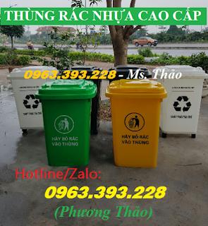 Thùng rác Y tế, Thùng rác chứa chất thải, Thùng rác nhựa công nghiệp cao cấp