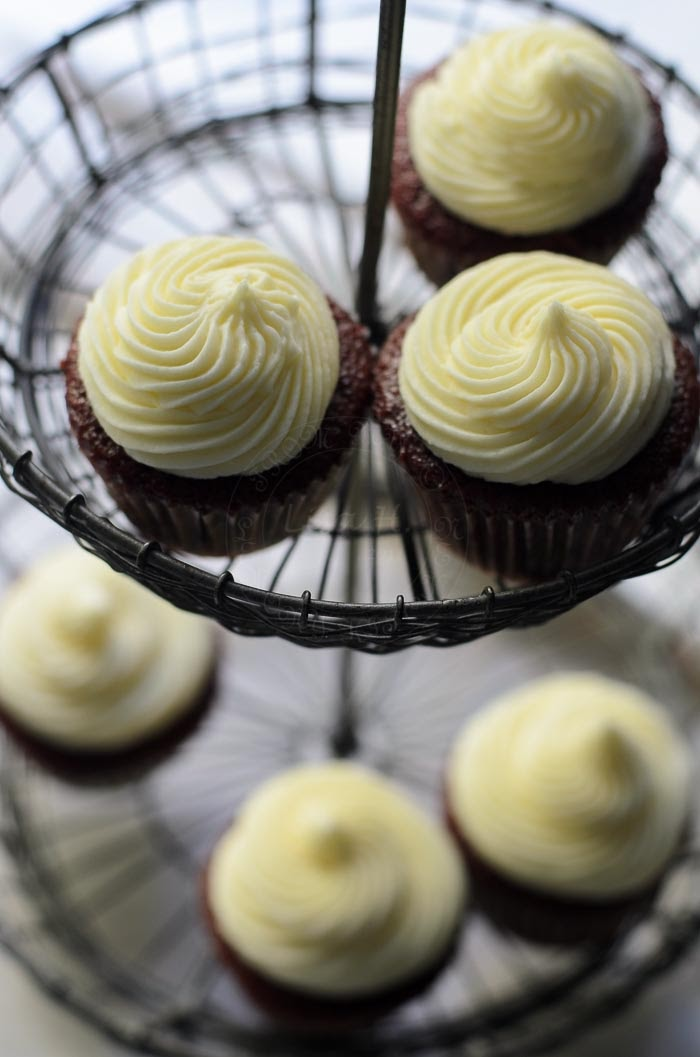 Beetroot Red Velvet Cupcakes