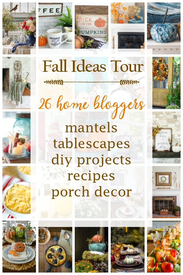 Loads of fall decor ideas!