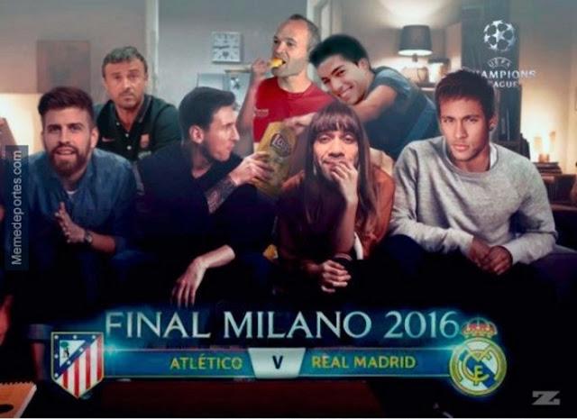 Real Madrid Campeón de Europa por 11ª vez - San Siro Real Madrid 1-1 Atlético de Madrid - Meme vía El Mundo - Álvaro García - ÁlvaroGP - el troblogdita