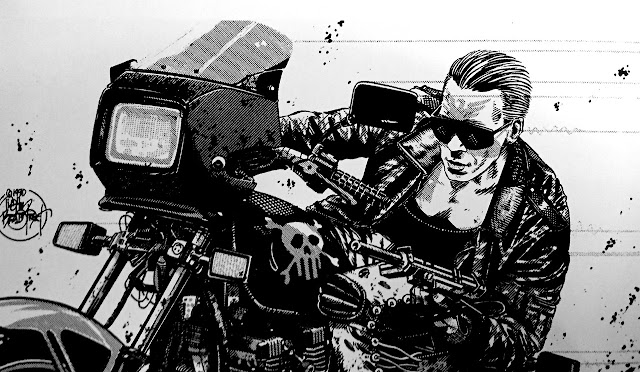 The Punisher - Illustration by Tim Bradstreet