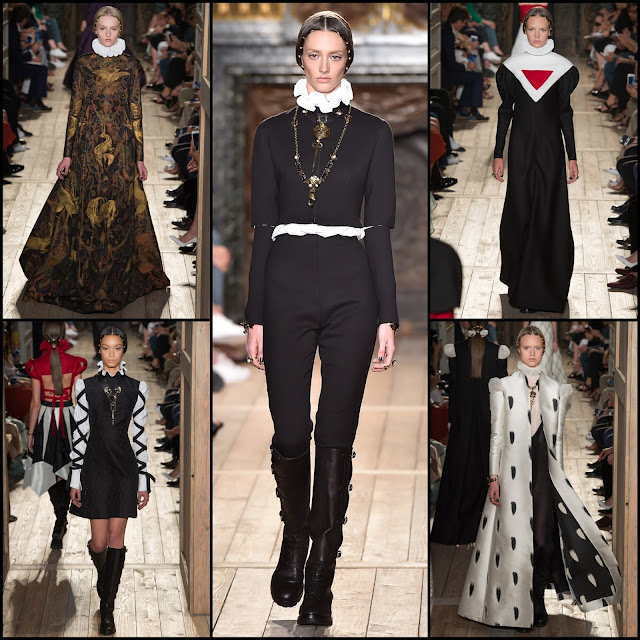 RUNWAY REPORT.....Paris Haute Couture Fashion Week VALENTINO Haute Couture Fall/Winter 2016 Photos + Video!