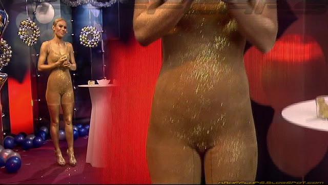 Mireia Canalda, sin vestido... 'Campanades 2017'