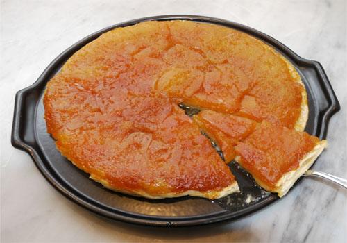 Torta húmeda de manzanas