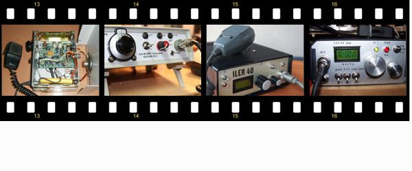 ILER QRP KIT HAM RADIO TRANSCEIVER SSB CW PICTURE EA3GCY VXO TRX QRZ QSL DDS