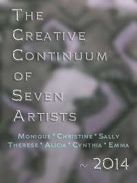 Introducing: The Creative Continuum of Seven Artists ~ an adventure in art creating with friends :: All Pretty Things