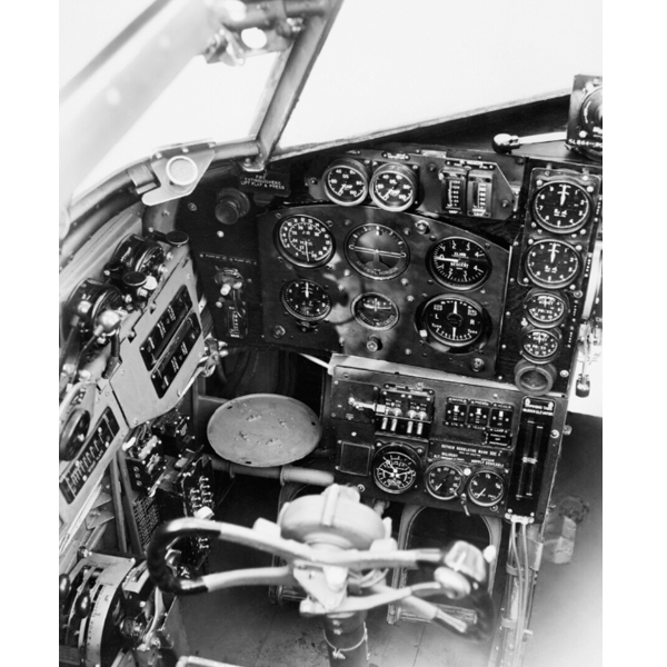12 February 1941 worldwartwo.filminspector.com Bristol Blenheim cockpit