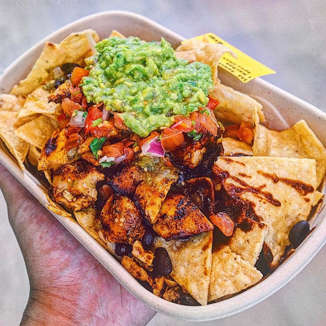 Nachos with Grilled Chicken