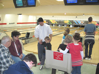 gathering on Bowling Day