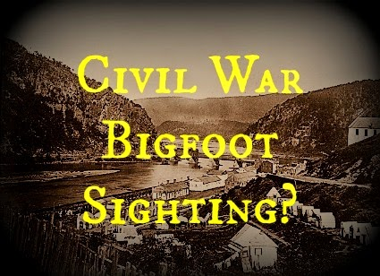 Civil War Bigfoot Sighting?