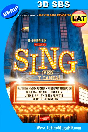 Sing: ¡Ven y Canta! (2016) Latino FULL HD 3D SBS 1080P ()