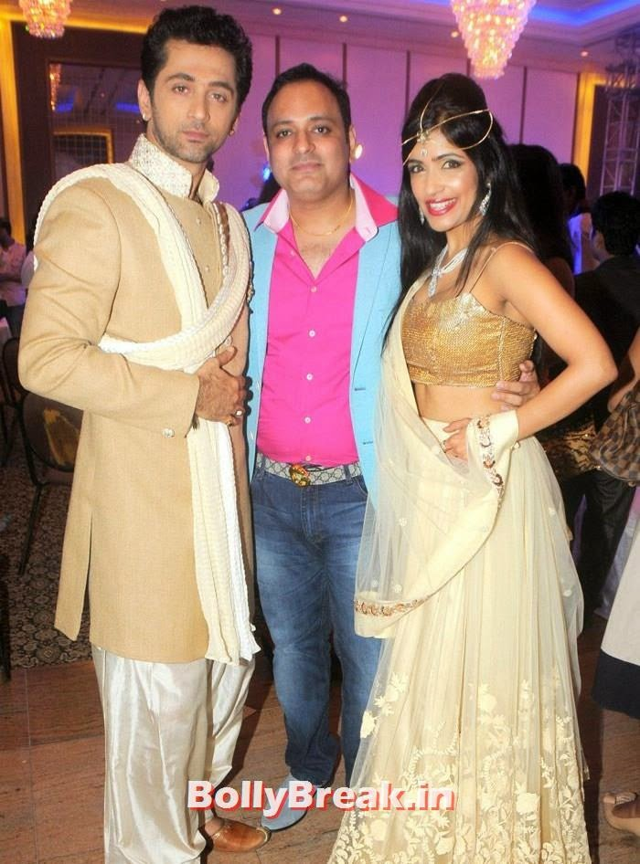 Rajiv Roda, Prashant Sharma, Shibani Kashyap, Amy Billimoria Fashion Show - The Big Fat Fashionable Wedding