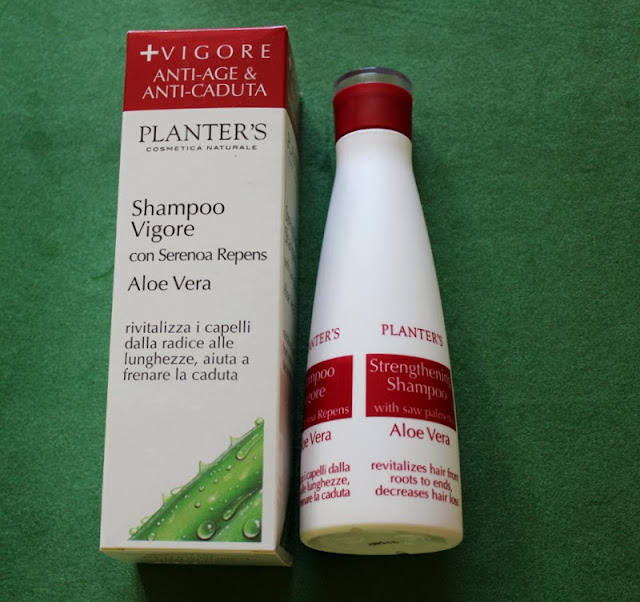Укрепляющий шампунь с Aloe Vera от Planter's