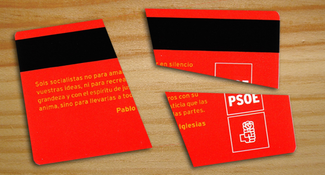 Carta abierta de un ex militante del PSOE