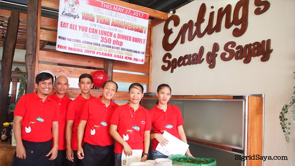 Enting's Special of Sagay Bacolod restaurant