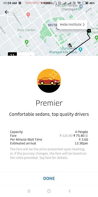 Uber Premier explained