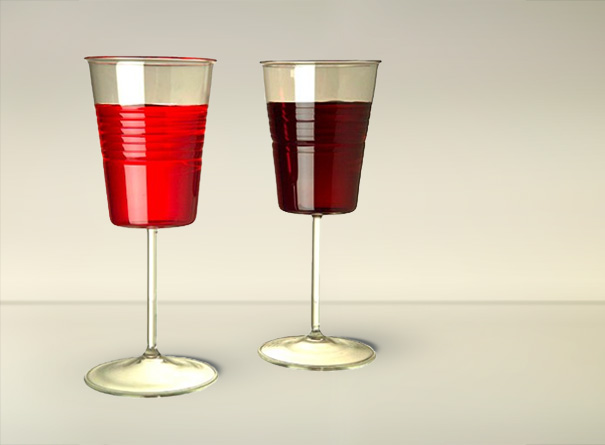 plastic Cup Wine Glass