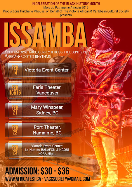 ISSAMBA - Your unforgettable Journey Through the Depths of African-Rooted Rhythms