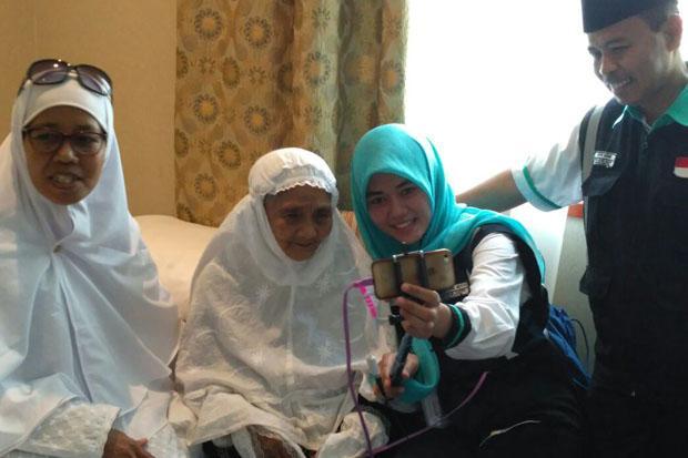 Kisah Lucu Haru Nenek Usia 104 Tahun di Tanah Suci