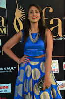 Madhu Shalini Looks Super Cute Slim trim Blue Choli Ghagra IIFA Utsavam Awards 02.JPG