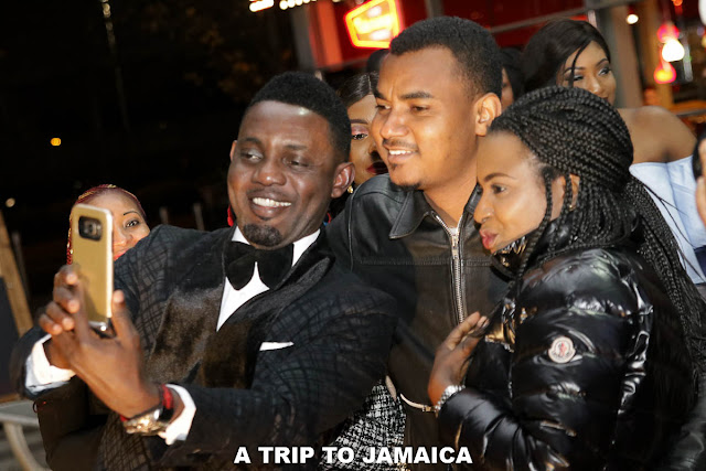 Ayo Makun's A TRIP TO JAMAICA London Premiere