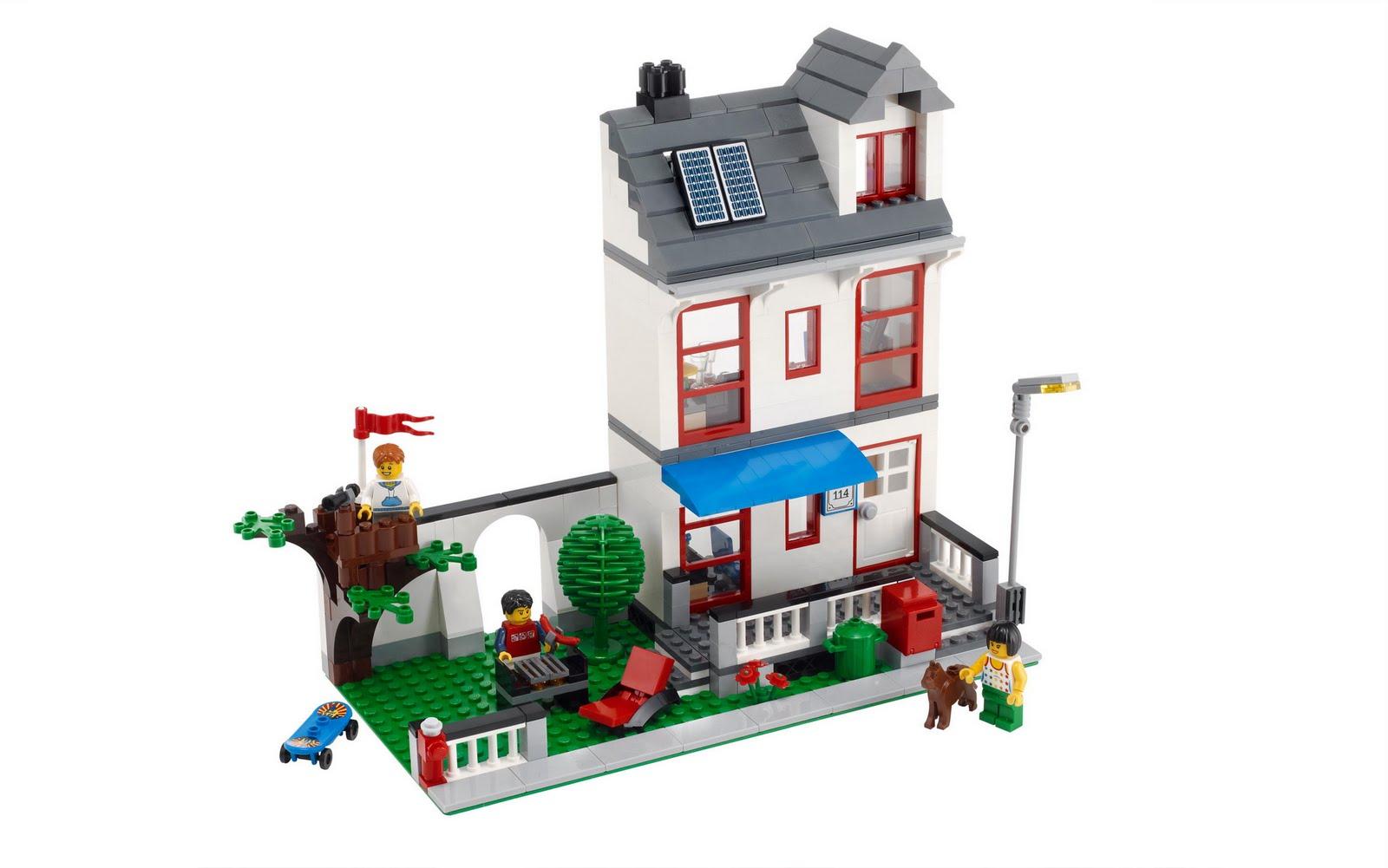 Www Onetwobrick Net Set Database Lego 8403 City House
