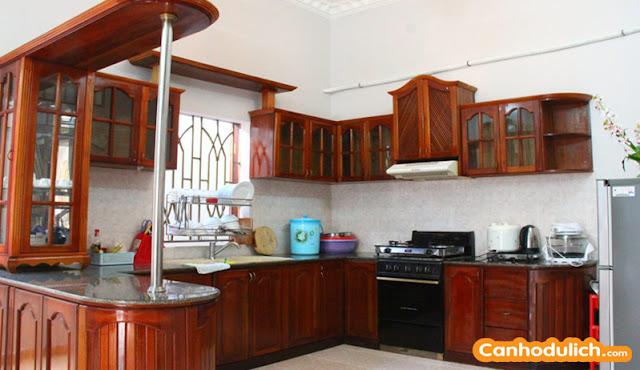 Nhà bếp tại biệt thự Ali 6B Vũng Tàu