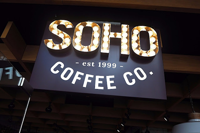 Soho Coffee Club Sign