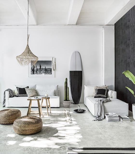 Trend – Des planches de surf en décoration intérieure