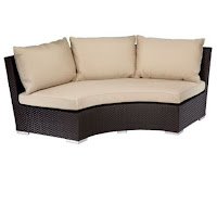Curved Sofas And Loveseats Reviews: Curved Conversation Sofa