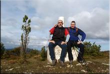 Peña Arrate mendiaren gailurra 893 m. -- 2016ko azaroaren 27an