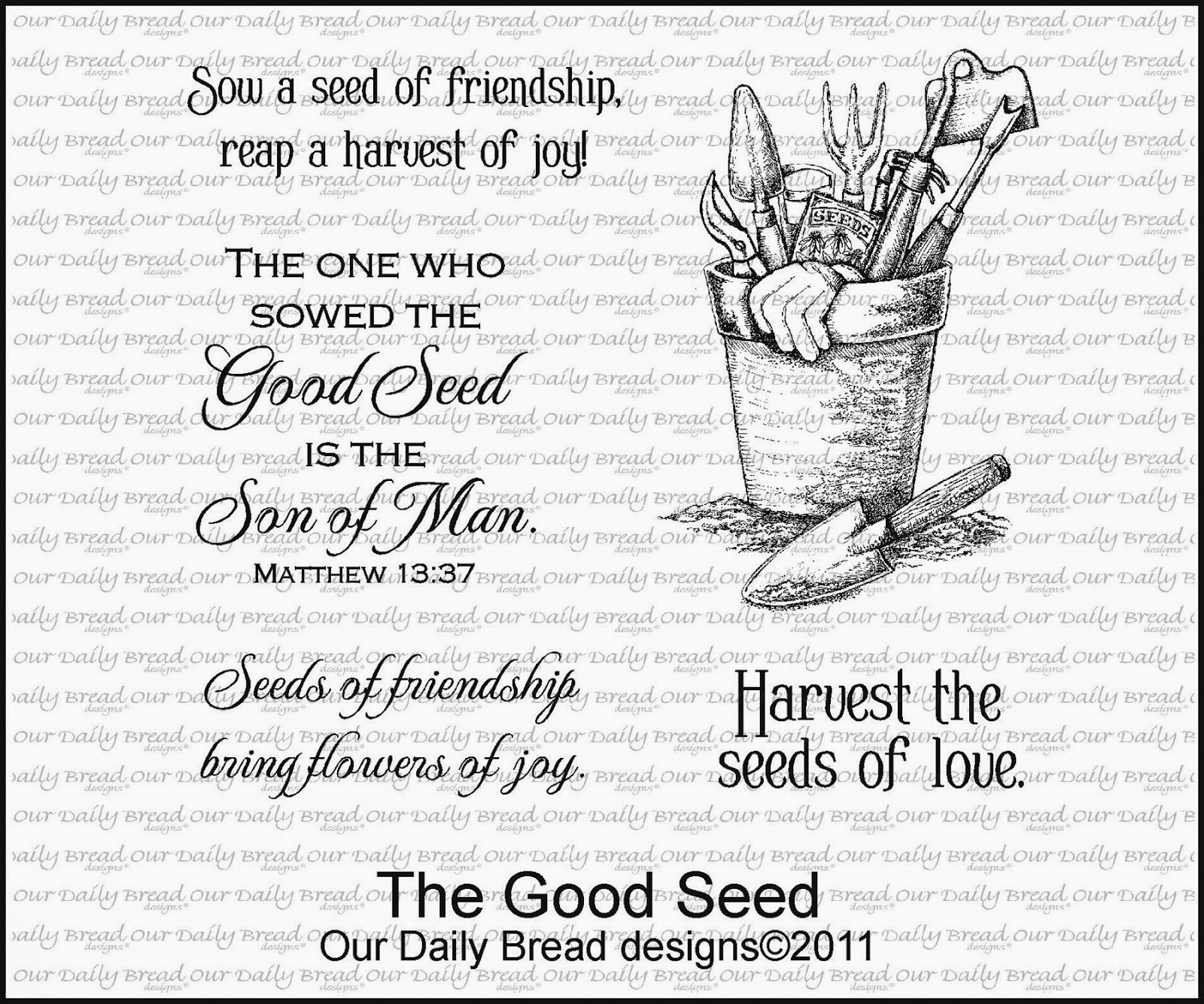 Our Daily Bread designs The Good Seed