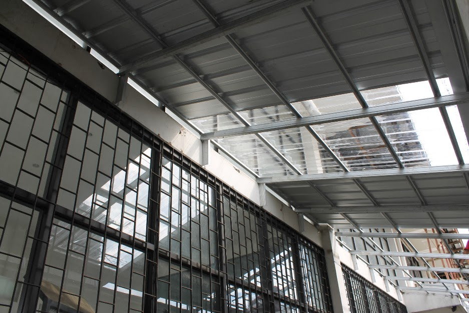 kanopi baja ringan tangerang canopy rangka atap
