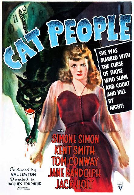 Cat People En Argentina La Marca De Pantera Y Espana Mujer Es Una Pelicula Estadounidense 1942 Dirigida Por Jacques Tourneur