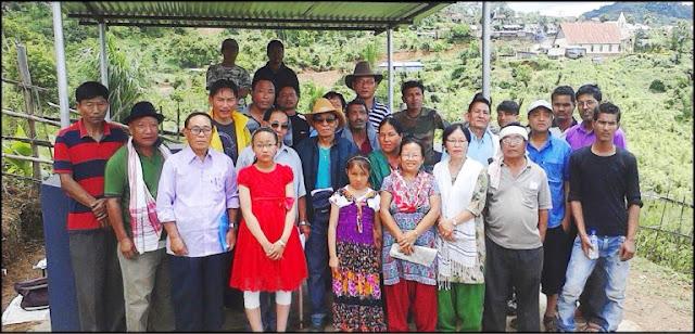 Resting shed was inaugurated by Gorkha Union Mokokchung