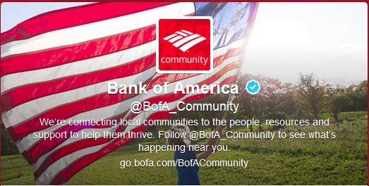 Best Cool Twitter Headers bank of america