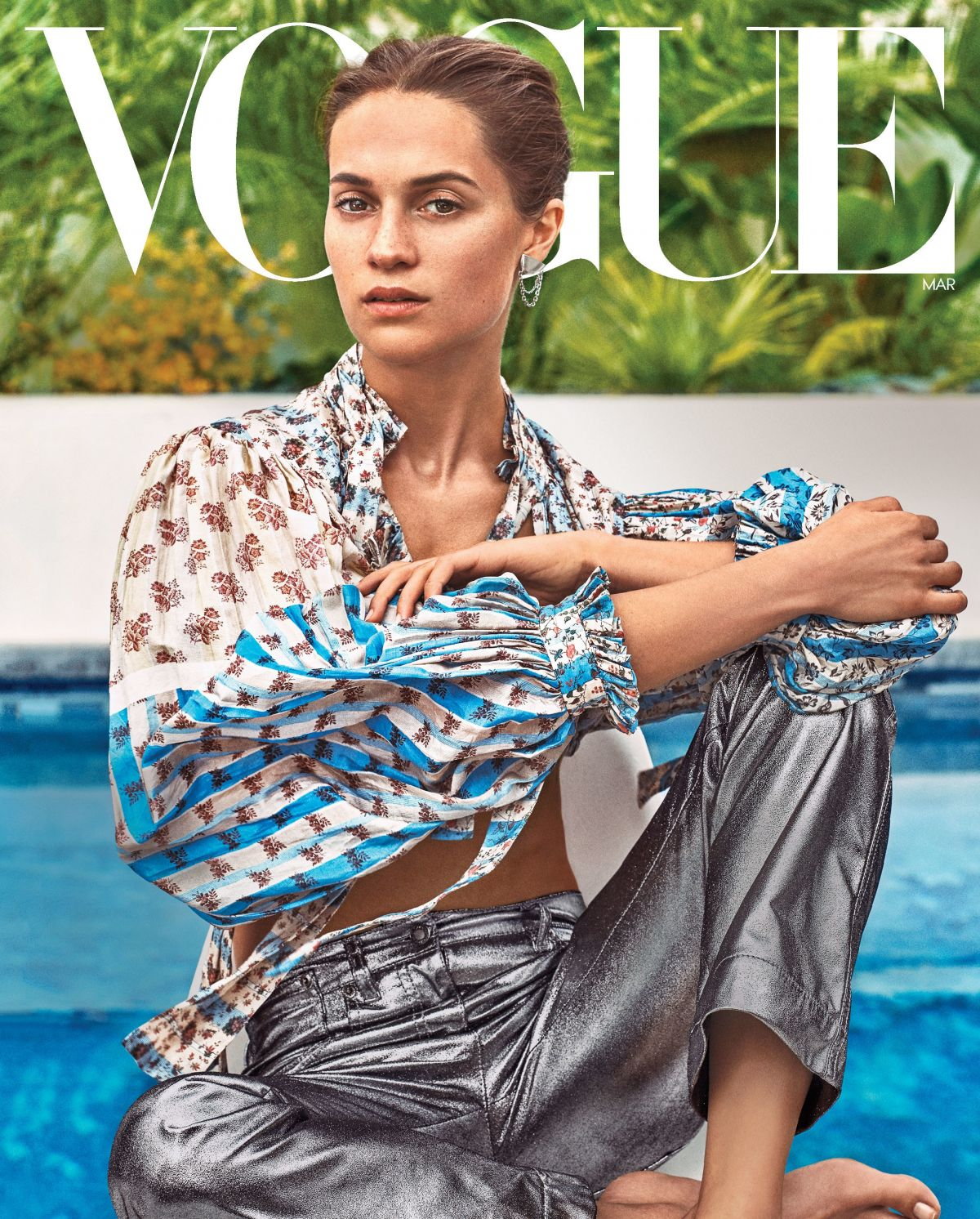 Alicia Vikander In Vogue Magazine March 2018